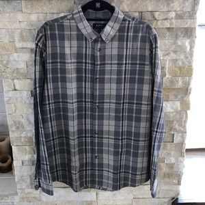 APC Plaid Button Down Shirt